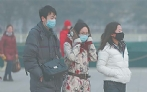Beijing battling lingering air pollution