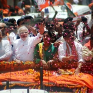 India's ruling Congress party complains against Modi's huge road show