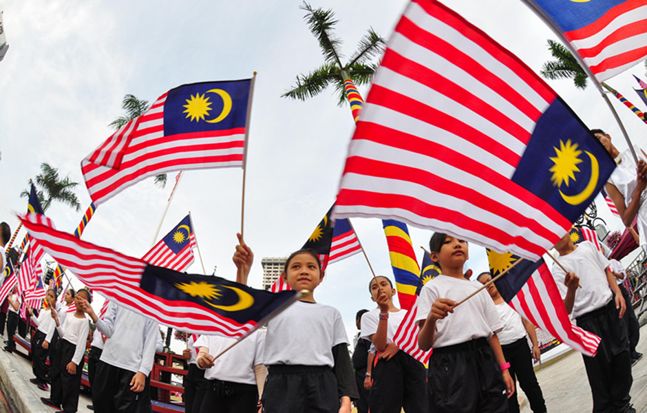 Malaysian celebrate the 57th National Day