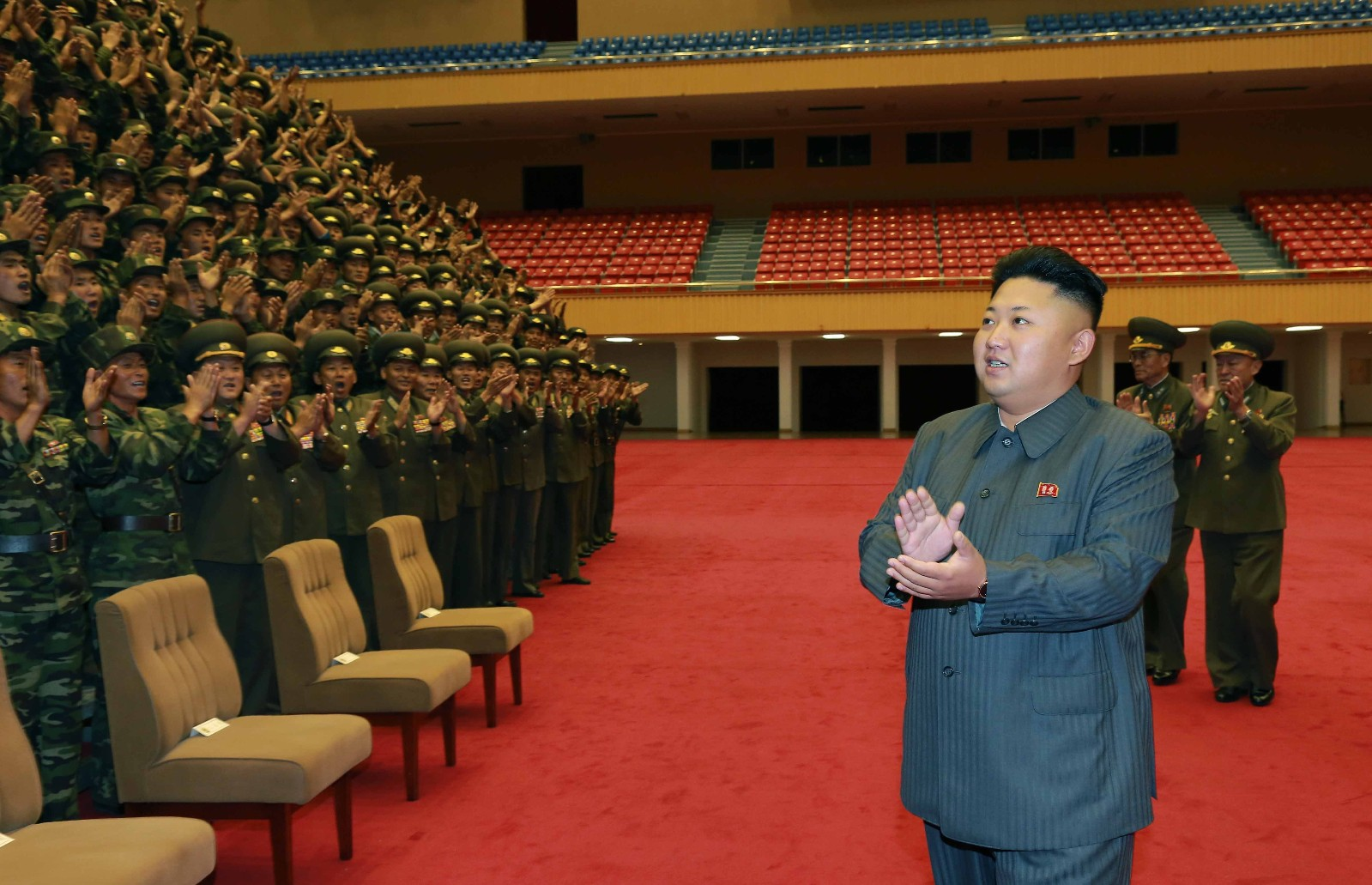 DPRK fires one short-range projectile into east waters