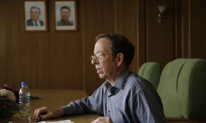 DPRK releases detained American considering repeated requests of Obama