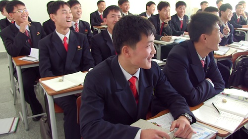 Commencement for bachelors held at private university in DPRK