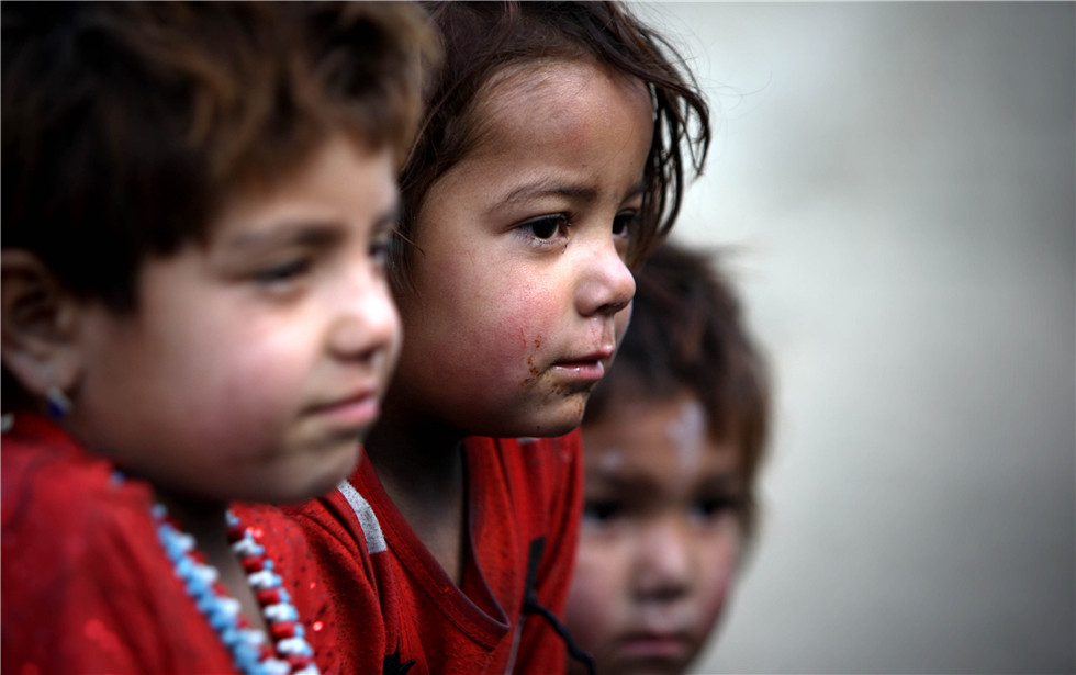Afghan children's daily life