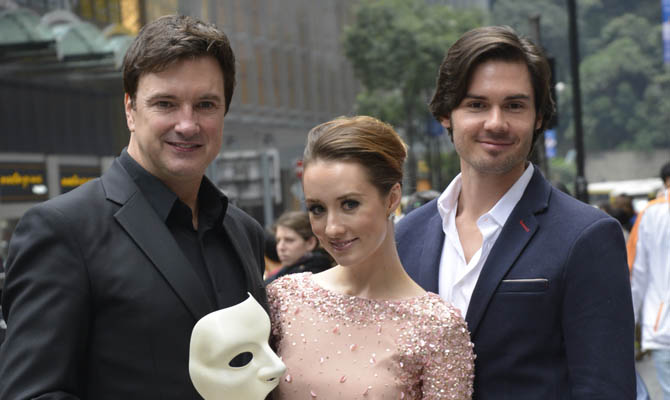 Webber's the Phantom of the Opera to back Hong Kong stage