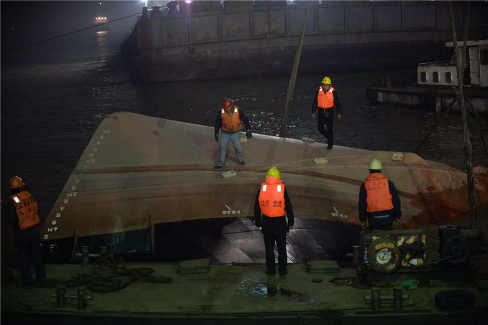 More than 20 missing after boat sinks in China's Yangtze