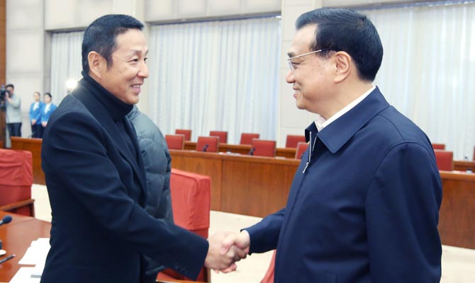 Premier Li hears opinions on gov't work report