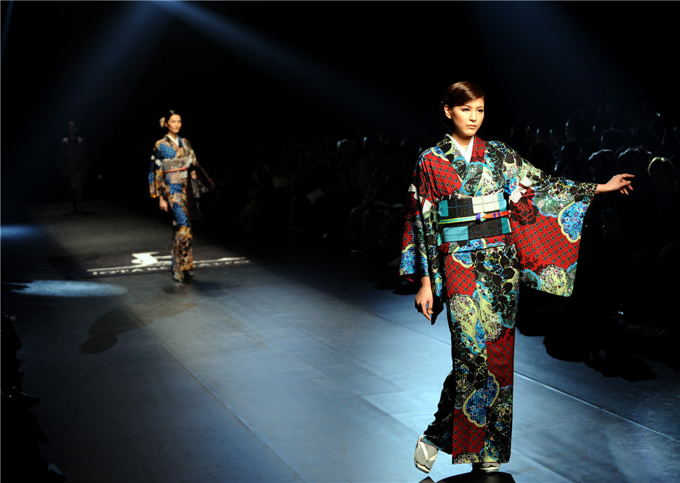 The Autumn/Winter collection of 2015 Tokyo Fashion Week