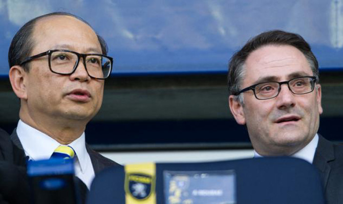 Chinese company's deal with Sochaux could be completed in May