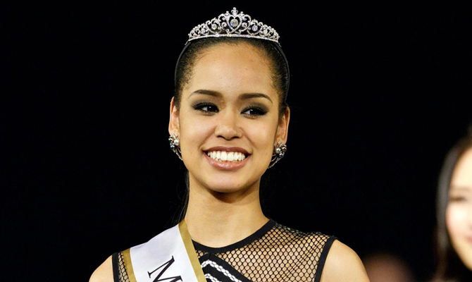 I'll be role model I never had: Japanese Miss Universe