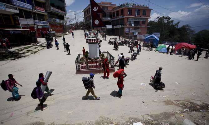 Young Nepalese seek permanent teaching jobs amid job scarcity due to quakes