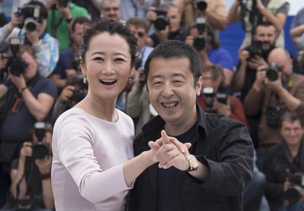 Jia Zhangke's movie screened at Cannes to compete for Palme d'Or
