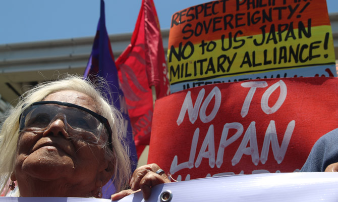 Philippine military alliances with U.S., Japan questioned