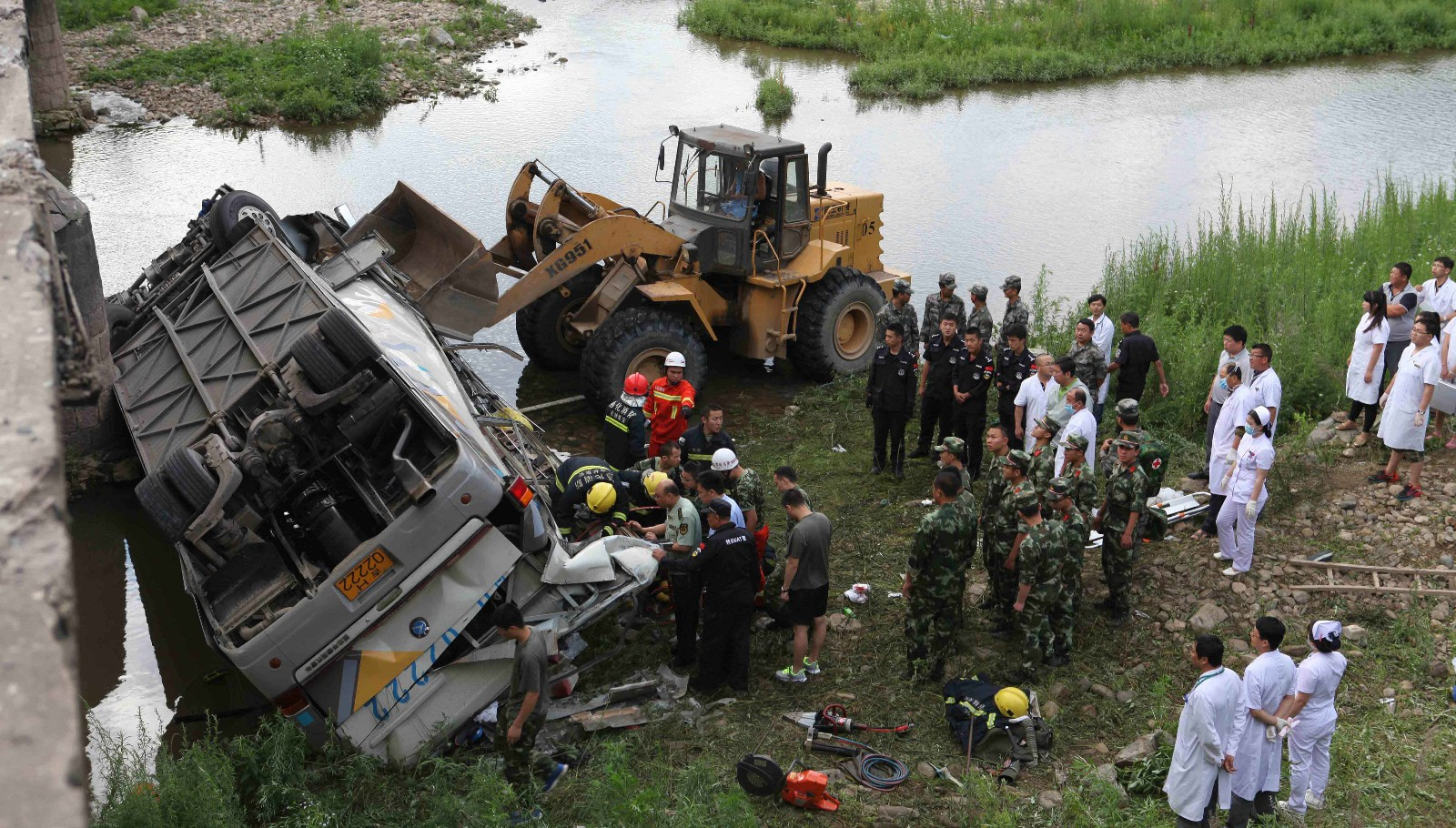 S. Korea sends emergency team to China for bus accident aftermath
