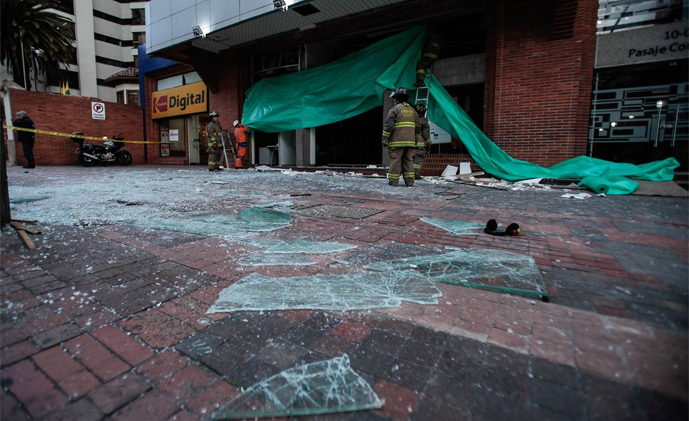 Two explosions took place in Bogota, Columbia