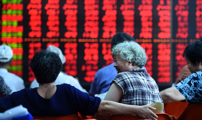 China stocks continue recovering