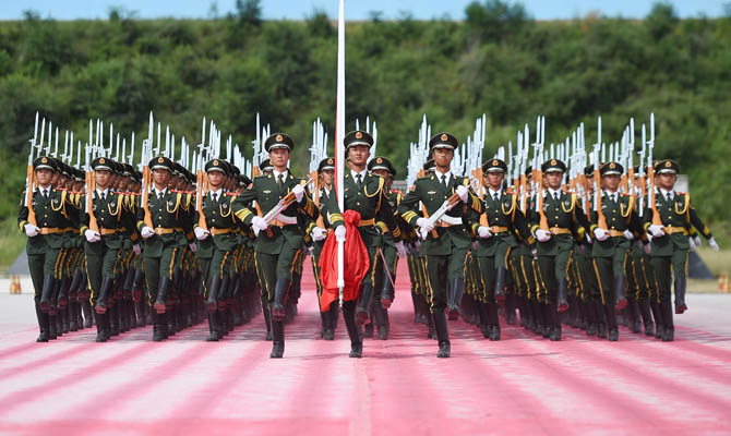 China's V-Day parade to demonstrate mankind's common aspiration for peace