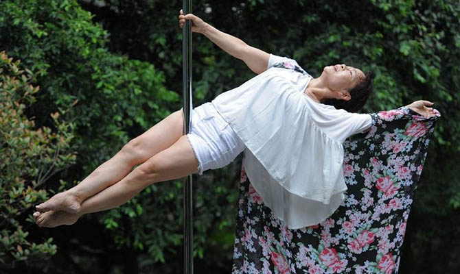 Meet Dai Dali, the pole-dancing pensioner