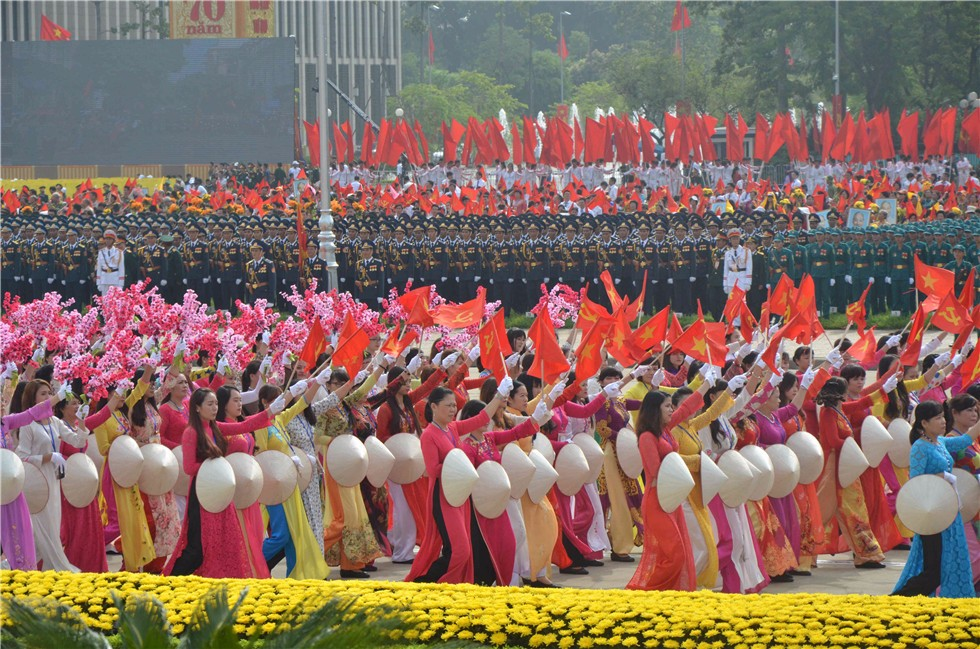 Vietnam held military parade to celebrate 70th anniversary of the National Day
